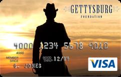 Gettysburg Foundation Visa Card