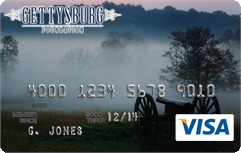 Apply for Gettysburg Foundation Visa Card