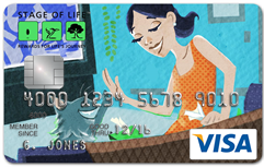 Stage of Life Visa Card